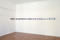 Olhar Raso exhibition view